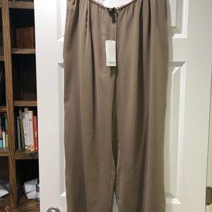 Eileen Fisher Silk Georgette Pants size 1X NWT